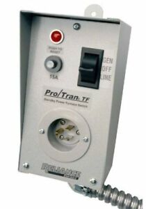 Reliance Control Tf151w Generator to furnace Transfer Switch