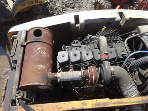 Cummins B 5 9 Turbo Diesel Engine Industrial Runs Exc Isb Hyundai Excavator