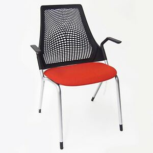 Herman Miller Sayl Caper Black Tomato Fixed Leg Chair Local Pickup Only