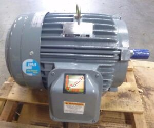 Ge S234 Electric Ac Motor 3hp 230 460v 1165 Rpm 213t 3 Phase Tefc