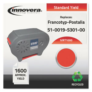 Innovera Remanufactured 51 0019 5301 00 t 1000 Postage Meter Ink Red