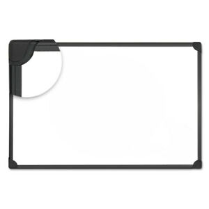 Universal Design Series Magnetic Steel Dry Erase Board 48x36 White Black Fr