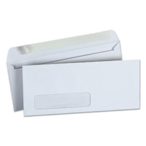 Peel Seal Strip Business Envelope 10 4 1 8x9 1 2 Window White 500 bx