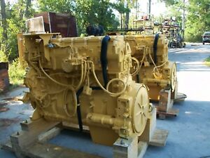Caterpillar 3406e 600 Hp C 16 Engines Everything Is New 99 5ds 1mm S n Rare