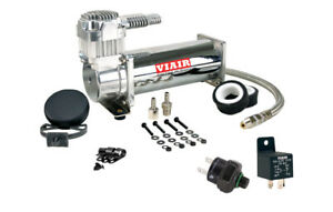 Viair Single 444c Air Compressor Kit With 200psi Off Switch Relay Included