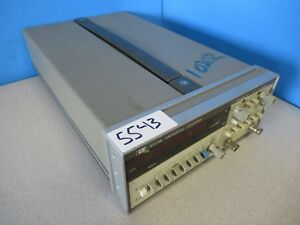 Hp 5315b Dual Channel Universal Counter 5543 L