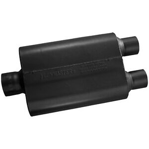 Flowmaster 430402 40 Series Muffler 3 00 Center In 2 50 Dual Out Aggressive