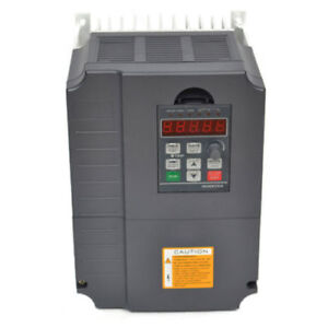 Used 7 5kw 220v Vfd Variable Frequency Drive Inverter 10hp 34a