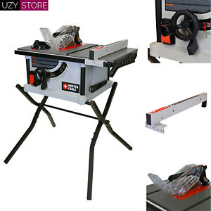 PORTER CABLE 15 Amp 10 inch Carbide Tipped Table Saw 5300 RPM Speed Adjustable