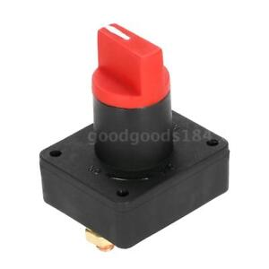 Brand New Car Boat Camper 100a Battery Isolator Disconnect Cut Off Switch D3k4