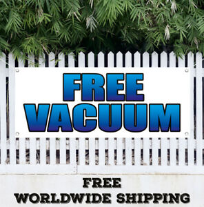 Banner Vinyl Free Vacuum Advertising Sign Flag Many Sizes Electrical Shop Store