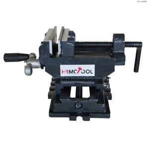 Hrmctool 4 X y Compound Cross Slide Vise Drill Press Vice Clamp Toolhrmctools_h