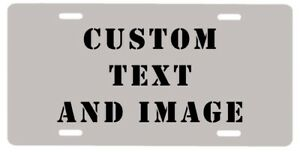 New Custom Create Your Own License Plate Car Tag