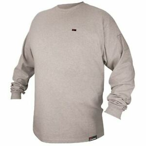 Revco Ftl6 gry gray Long Sleeve Fr Welding T shirt