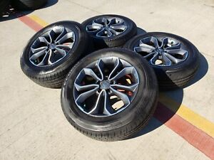 18 Honda Civic Si Oem Black Wheels Rims Tires 64113 Accord 2018 2019 2020 2021