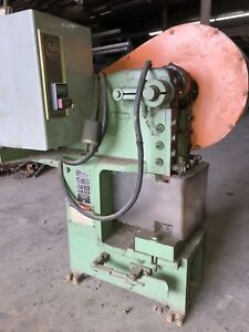 Alva Allen Bds2 Mechanical Punch Press 2 Ton