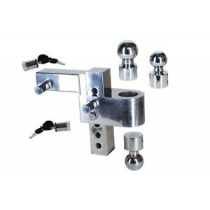 Uriah Products 6 Drop 2 Receiver Weight Distribution Hitch 12k Rated