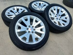 22 Chevy Tahoe 2018 Gmc Sierra Chrome Oem Wheels Rims Tires 5666 2015 2016 2017