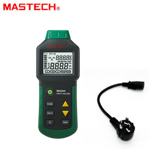 Mastech Circuit Analyzer Trms Ac Low Voltage Distribution Line Fault Tester 220v
