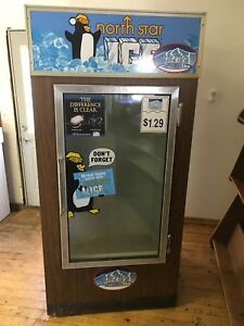 Commercial Freezer Box For Selling Ice Retail