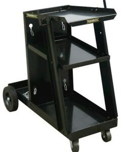 Heavy Duty Steel Welding Cart Garage Shop Mobile Design Welder Stand Storage