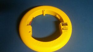 Jameson Wee Buddy 1 8 50 Fiberglass Fish Tape Excellent Condition