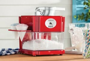 Compact Professional Snow Cone Machine Electric Party Shaved Ice Crusher Maker
