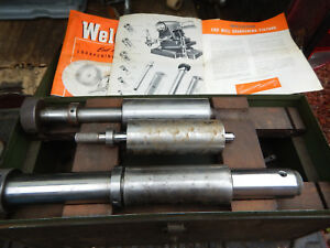 Weldon End Mill Endmill Sharpening Jig Spindles With Case No Main Casting
