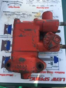 Ford Tractor Hydraulic Pump E 162330 Free Shipping
