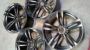 Staggered Set Of 19 Satin Black Bmw Wheel For 3 Series