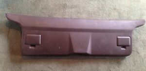 88 91 Honda Civic Wagon Rear Taligate Hatch Mid Oem Trim Panel Hatch Cover Brown
