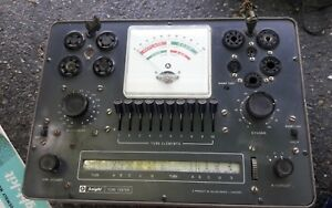 Vintage Knight Tube Tester Model 600 A Very Nice With Instruction Books Nice