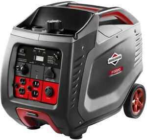 Briggs Stratton Inverter Generator Portable 3000 watt Gasoline Powered