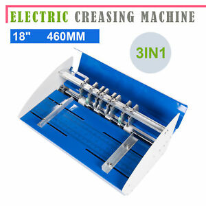 460mm Electrical Creasing Machine Heavy Duty Electric Paper Creaser