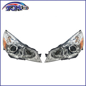 2010 2014 Subaru Legacy Outback Headlights Headlamps Left Right