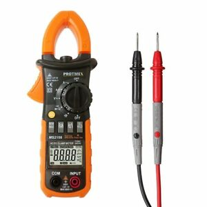 Ms2108 Clamp Meter T rms 6000 Counts Ac dc Clamp Meters Inrush Ammeter Ohmmeter