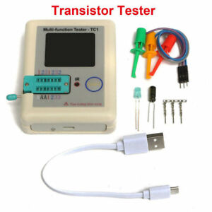 Lcr tc1 1 8inch Colorful Display Multifunctional Tft Backlight Transistor Tester