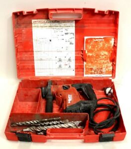 Hilti Te 6 c Sds Plus Hammer Drill chipping Kit 120v With Bits And Case
