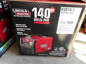 Lincoln Electric 140 Weld pak Mig flux Wire Feed Welder K2514 1
