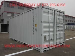 New 20 Shipping Container Cargo Container Storage Container In Houston Tx