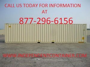 New 40 Shipping Container Cargo Container Storage Container In Savannah Ga