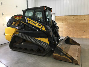 2017 New Holland C238 Compact Track Skid Steer Loader