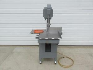 Hobart Model 5313g Commercial Meat Band Saw 1 1 2 Hp 230 Volt Single Phase Ph 1