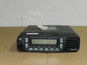 Kenwood Nx 800 K 2 Uhf 400 470 Nexedge Digital Mobile Two way Radio For Parts
