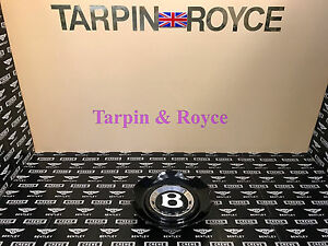 Bentley Gt Gtc Flying Spur Wheel Center Cap Disc Black Cap Individual Item wc06