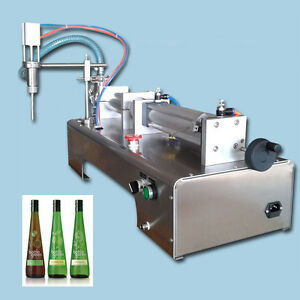 Upgraded Liquid Filler Filling Machine For Shampoo Beer Water 90 1000ml