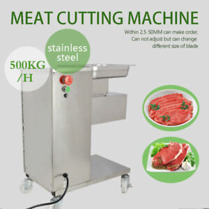 Hq 500kg Meat Slicer With One Set Blade Meat Cutting Machine Cutter 110v