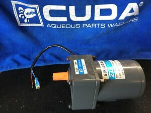 Cuda Aqueous Parts Washers Chain Driven Turntable Motor