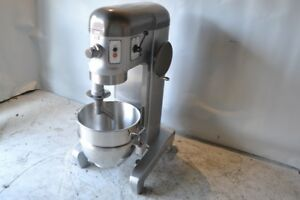 Used Hobart M 600 60 Qt Commercial Mixer new Steel Bowl free Shipping