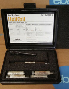 Helicoil 5523 12 Thread Repair Kit For Spark Plugs M12 1 25 Mm Usa